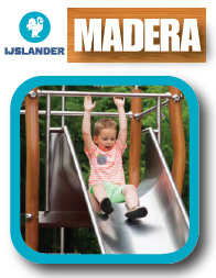 Madera playground equipment