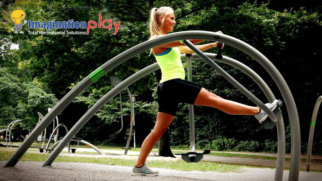 Outdoor Gym Equipment image