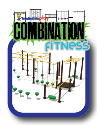 Imagination play combination fitness