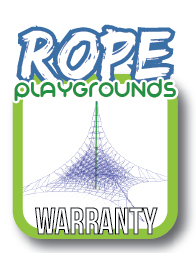 rope play equipment warranty