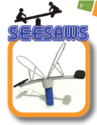 Russell Play seesaws