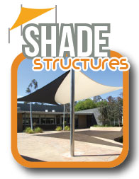 Shade sails and structures