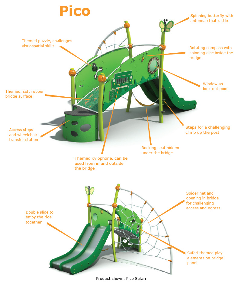 Amico playground equipment