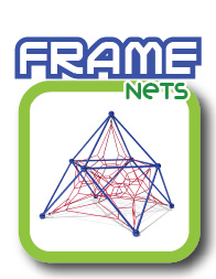 Frame rope nets
