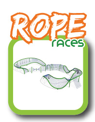 Rope playground races