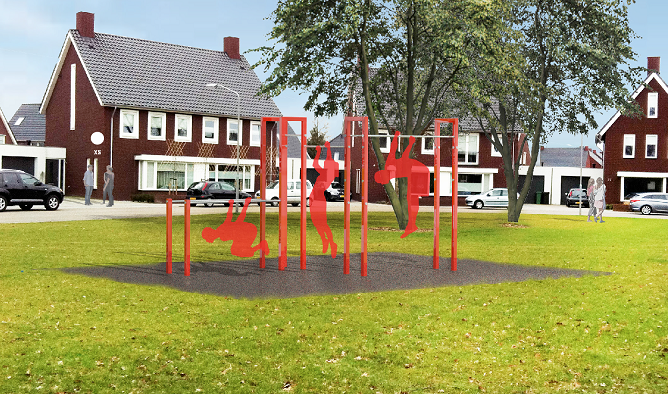 XS Barforz outdoor gym equipment