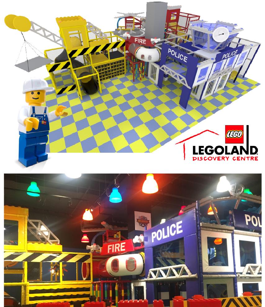 Legoland discovery centre playground in Australia