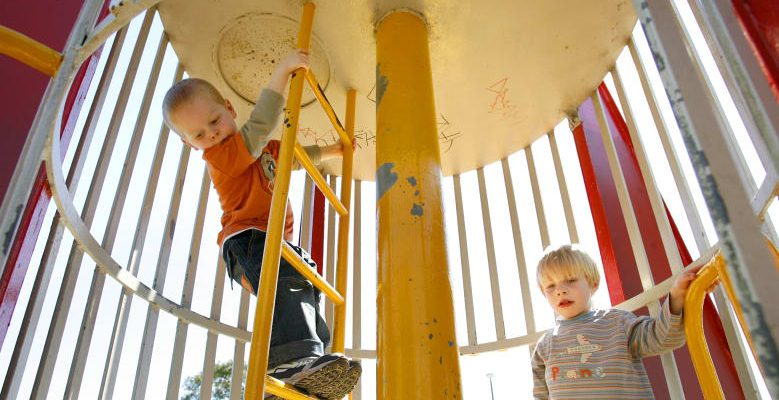Risk in playground equipment