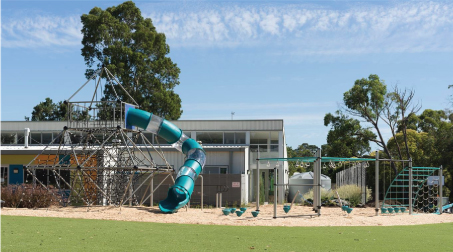 school play equipment installed in Australia