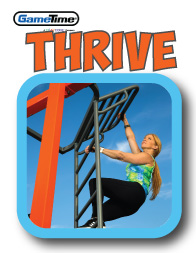 Thrive outdoor fitness equipment