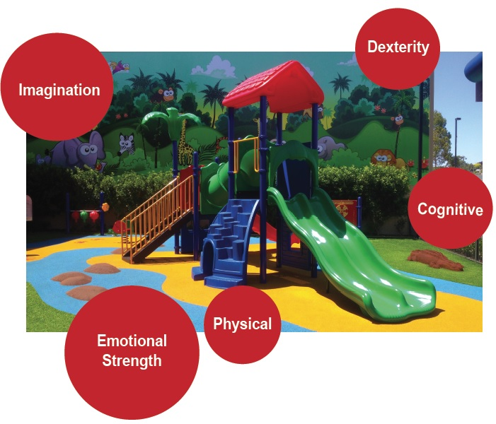 Early childhood playground equipment